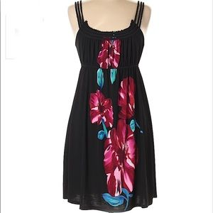 Charming Charlie Floral Print Mini Short Dress